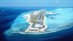 airport on island